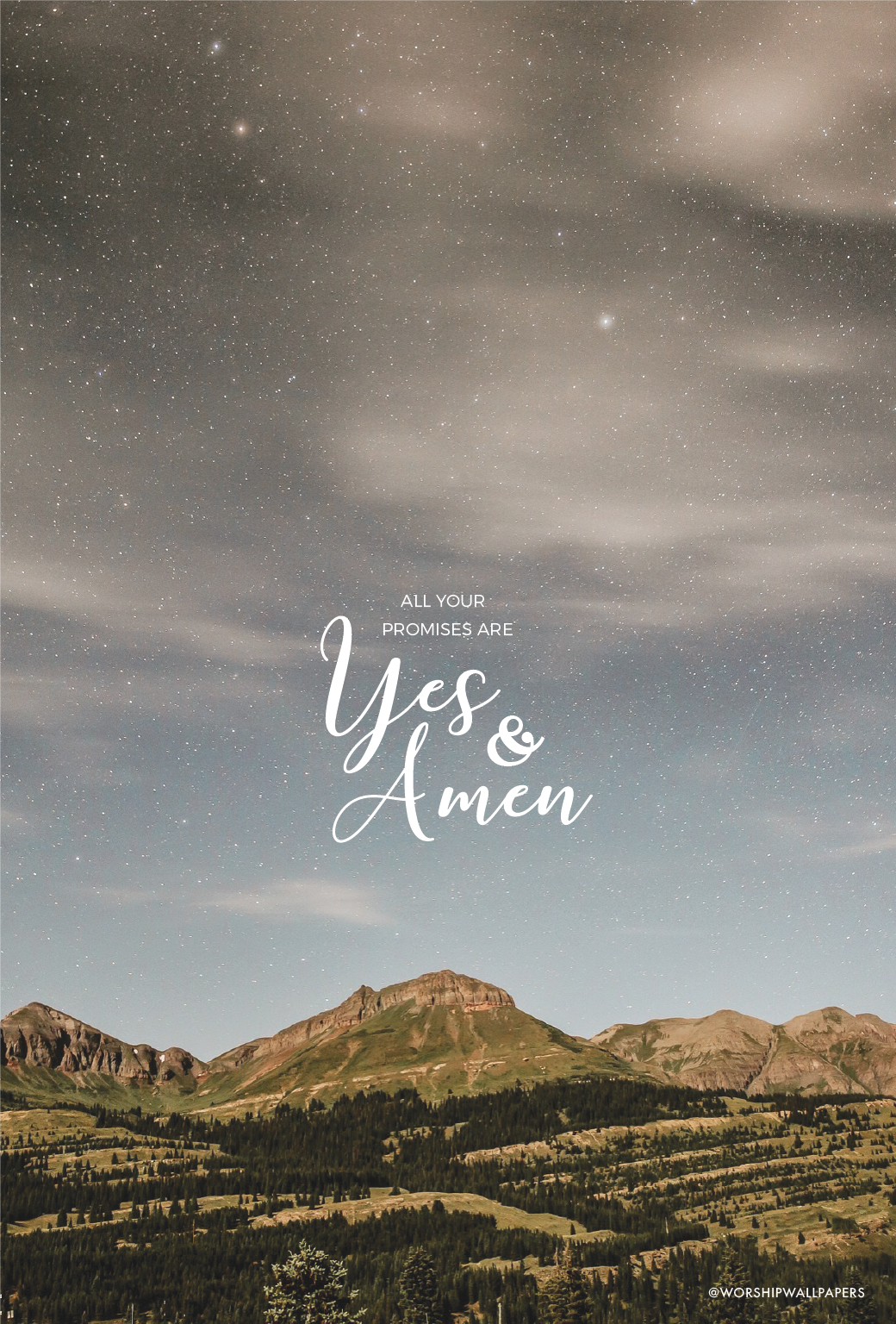 Yes And Amen Housefires Worship Wallpapers