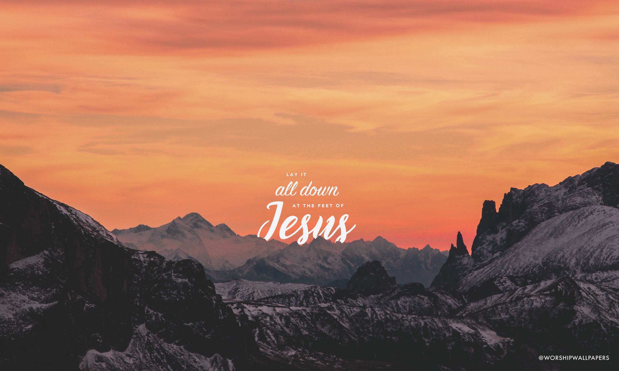 Laptop Wallpapers: Lay It All Down (feat. Will Reagan) // United Pursuit