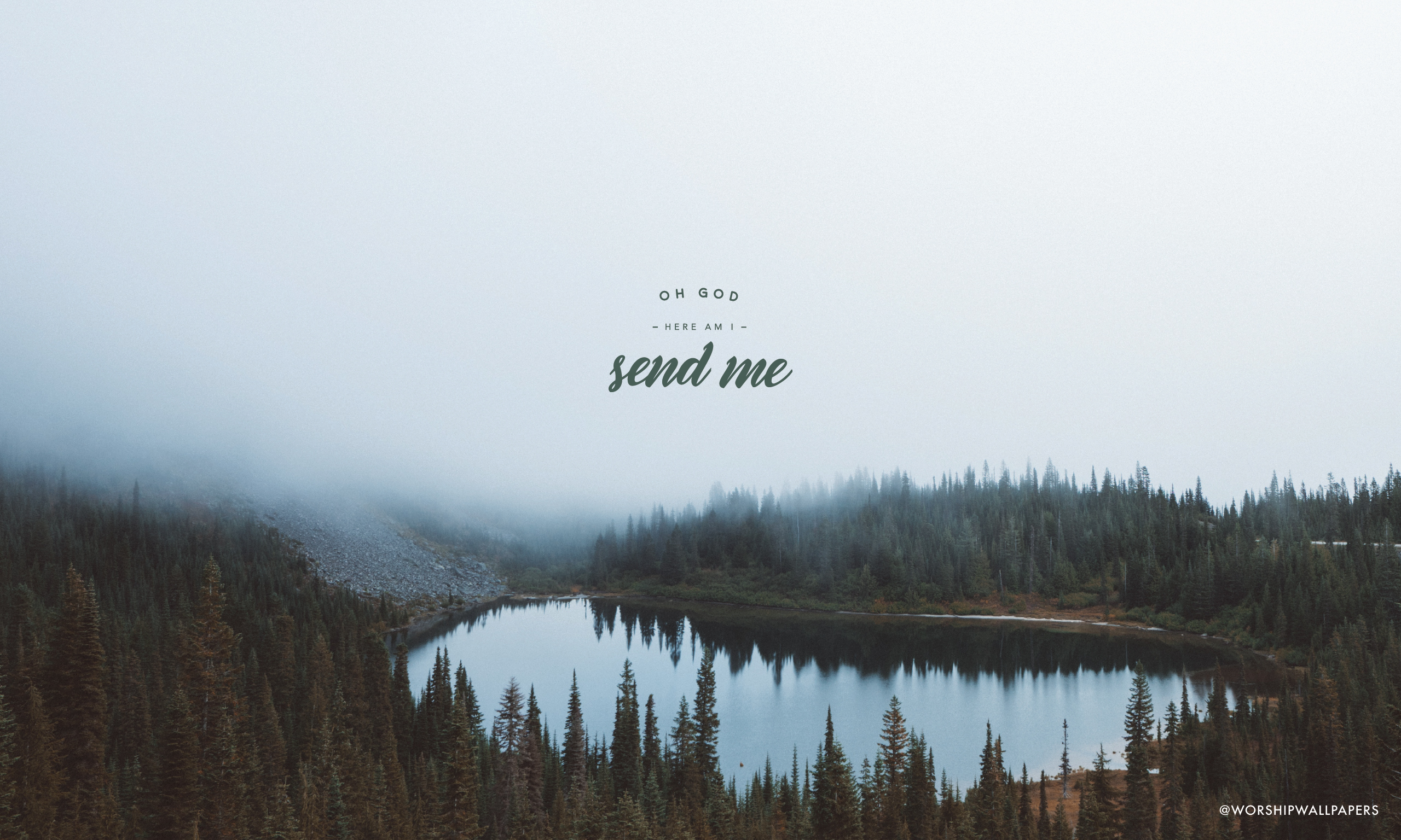 background wallpapers for laptop: Isaiah 6 (Here Am I Send Me) // Lindy Conant & The Circuit