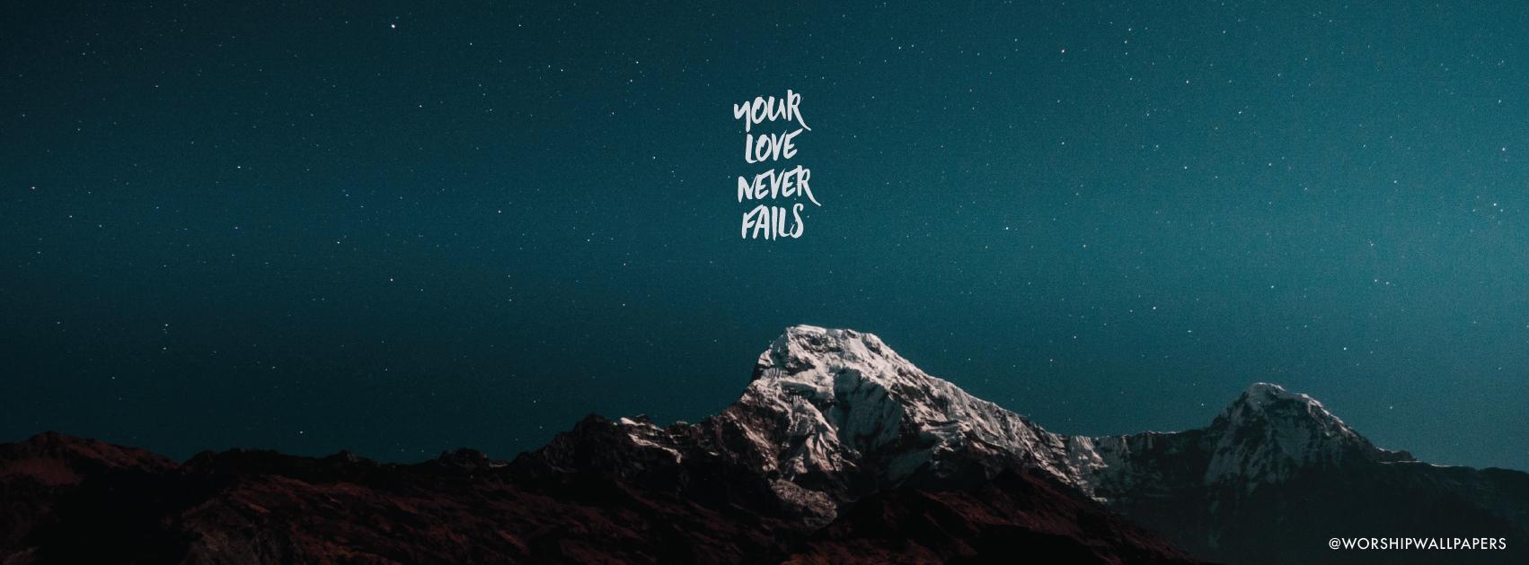 your love never fails lyrics pdf