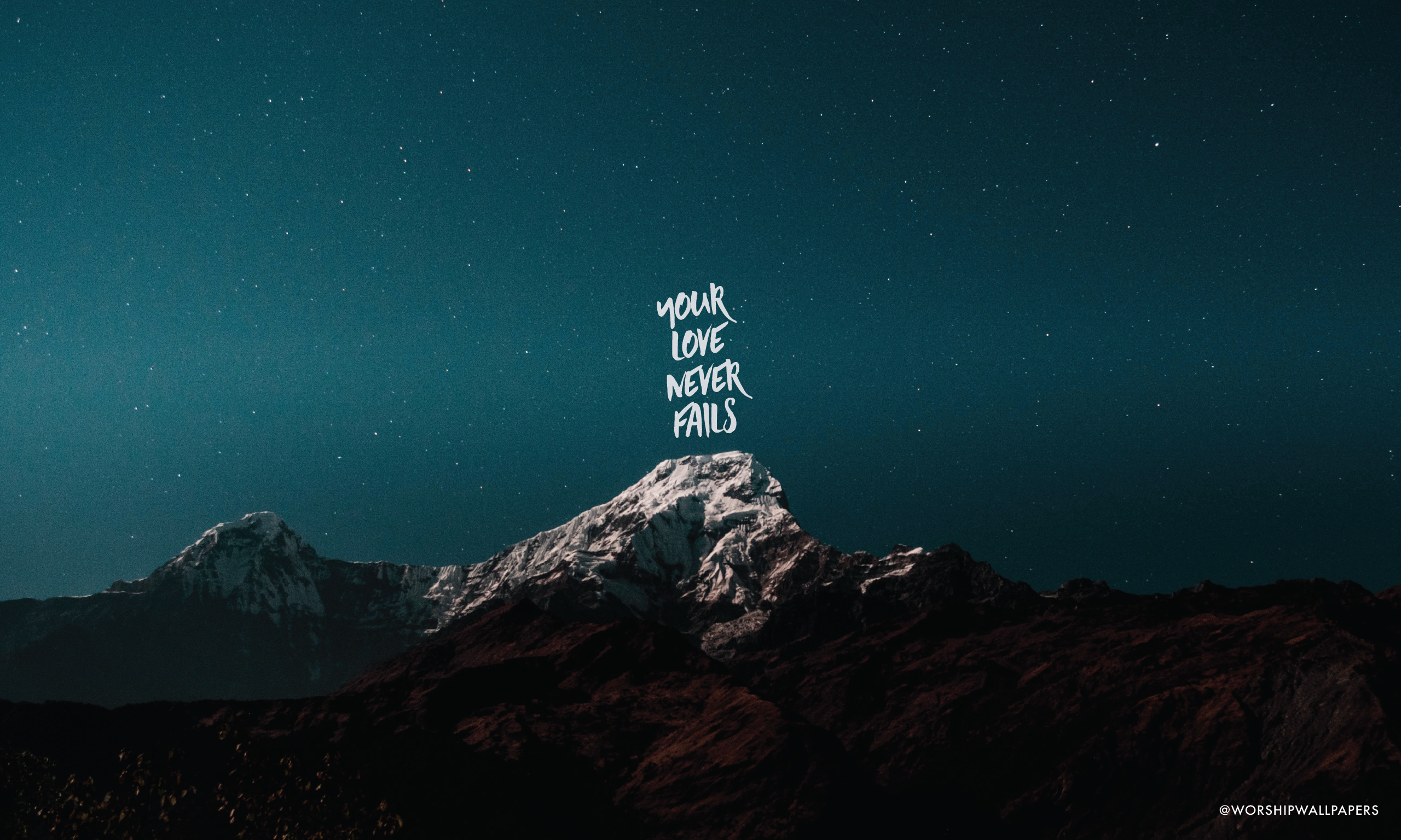 Your Love Never Fails Jesus Culture Worship Wallpapers