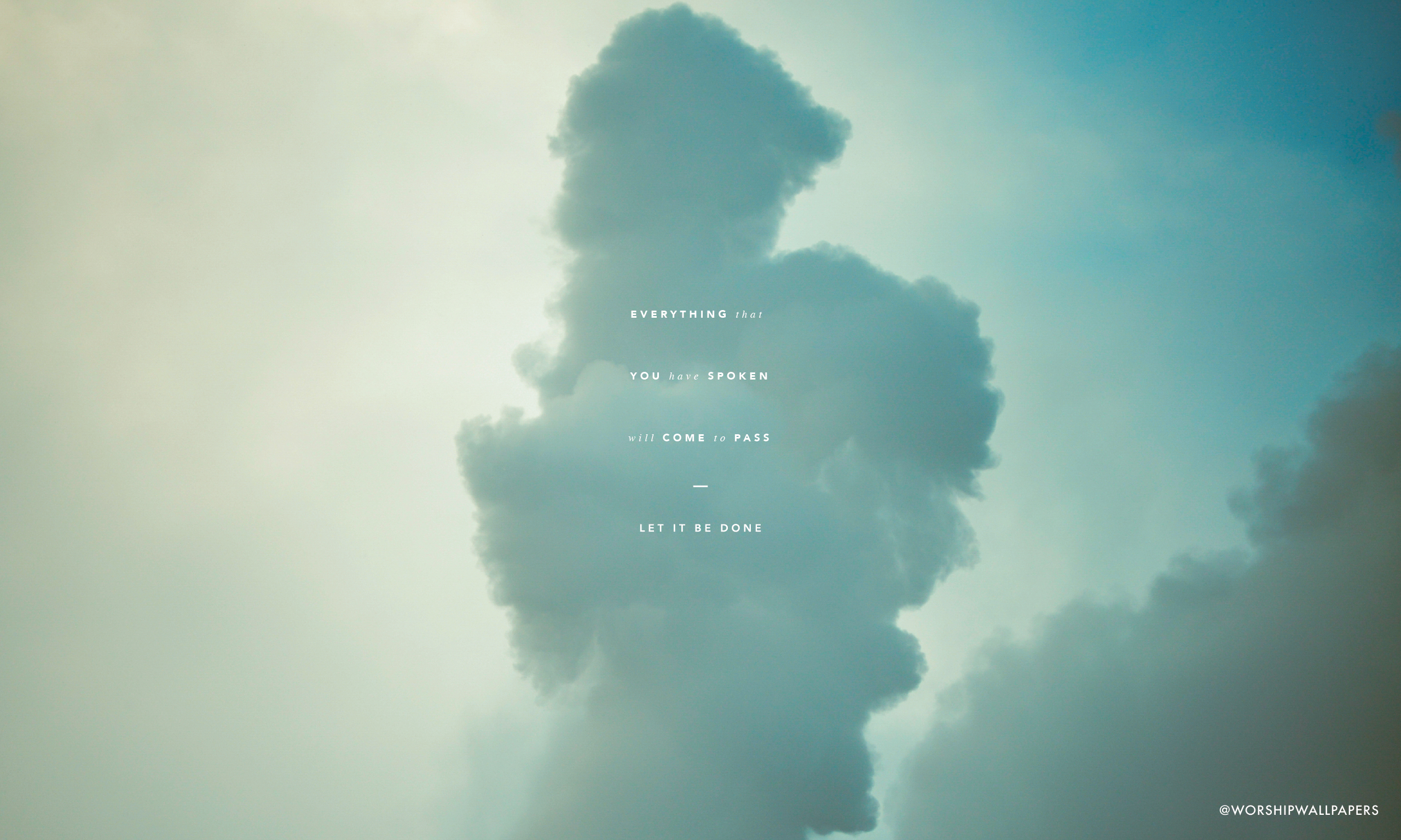 There is Cloud // Elevation Worship   WORSHIP WALLPAPERS